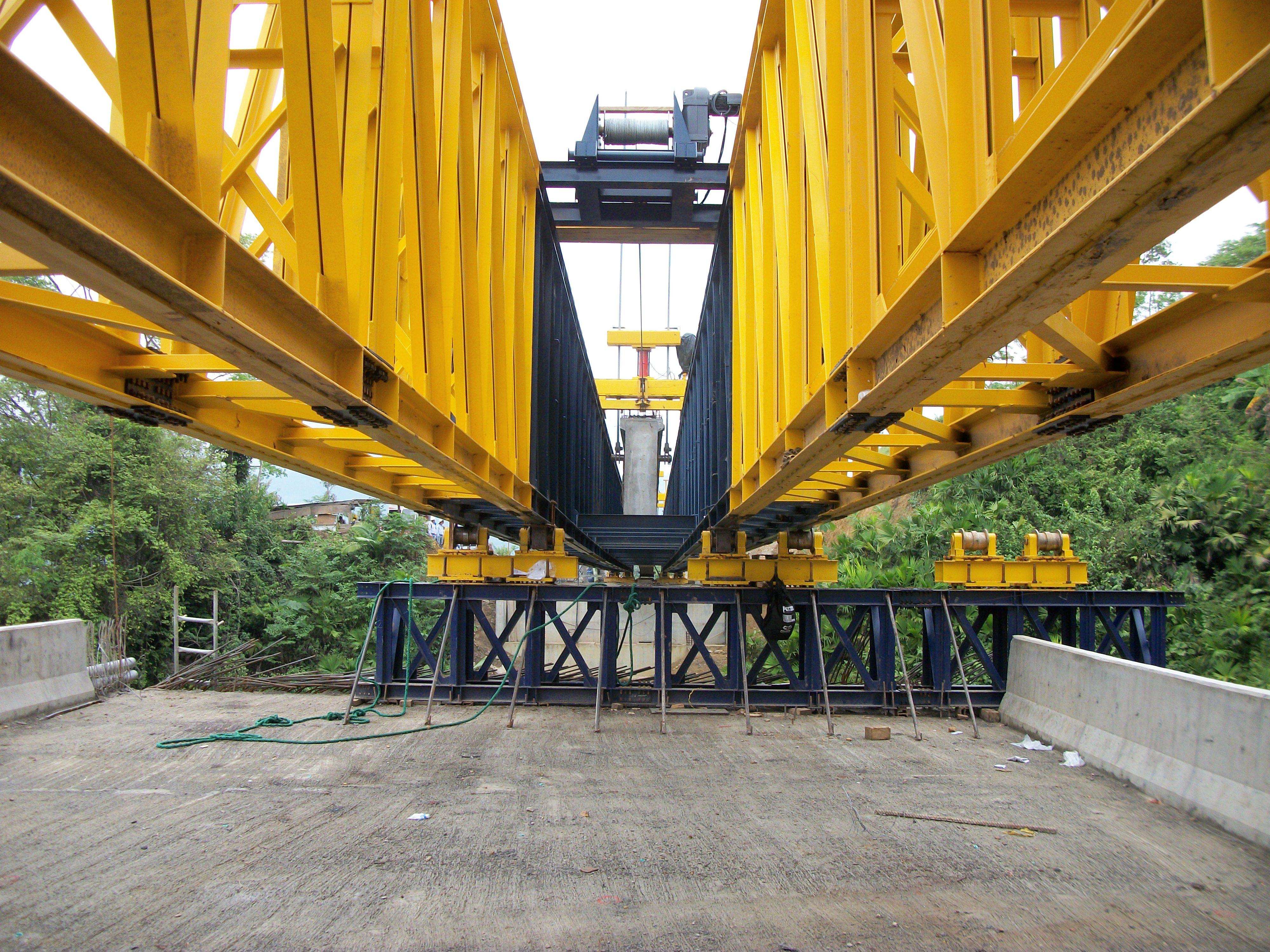 estructura metalica de puente