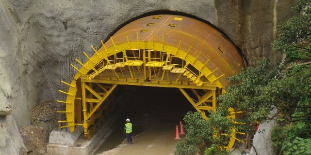 encofrado para túneles