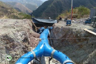 tuberia para agua metalica