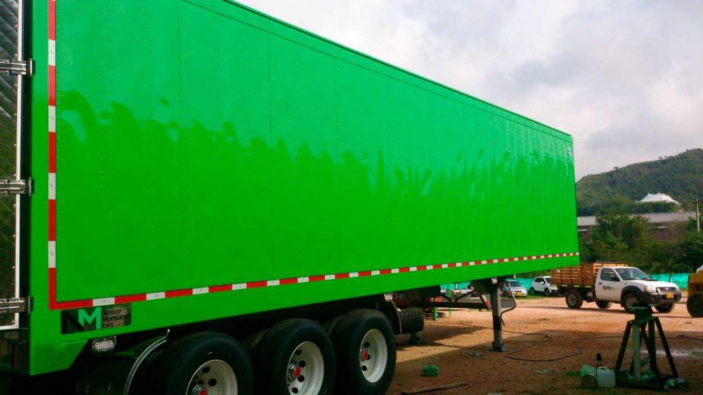 camion transporte de alimentos